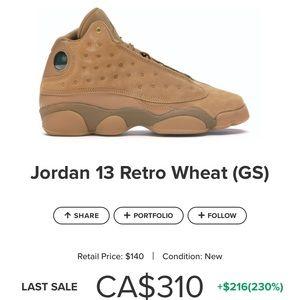 Jordan 13 Wheat!